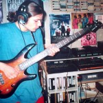 Jojo records Bass for the Josstick 1999