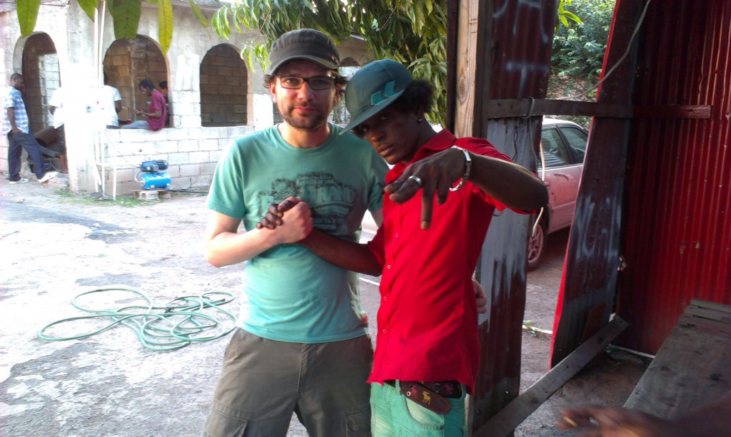 Jojo and Hottbrain in Kingston, Jamaica 2013
