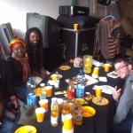 Backstage with Rocky Dawuni and Band on Tour 2013