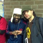 Fan and Tarrus Riley
